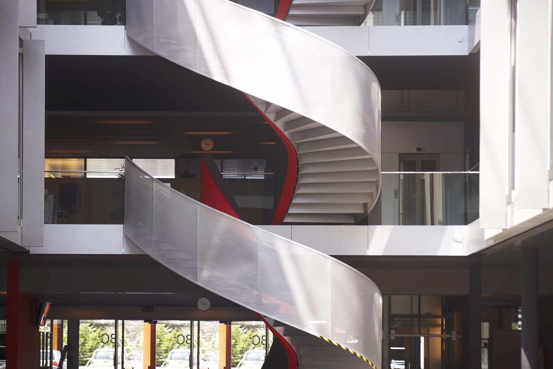 Bâtiment IC, EPFL Lausanne